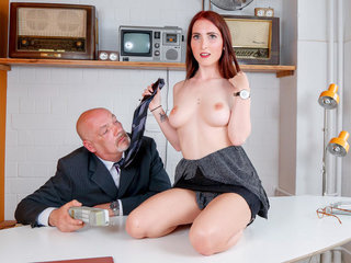 LETSDOEIT - Dirty German Honey Tempt And Ravages With Her Boss