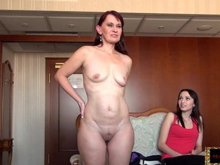 Mother and Daughter Vera Sheer pleasure and Chelsy Sun Audition