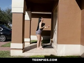 TeenPies - Hot Internal ejaculation For Hot Mexican Teenage Jessica Nubs