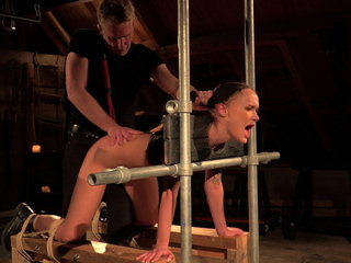 Teenager xxx nailed in domination & submission bang-out she groans