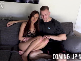 Curvy PAWG Teen 1st Timer Loves Big Beamy Racy Athlete Cock
