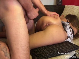 Admirable be wild about anal creampie less my slut shakedown