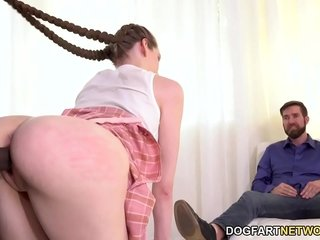 BBC Together with Anal Mating For Anniversary - Nym Fleurette - Cuckold Sessions