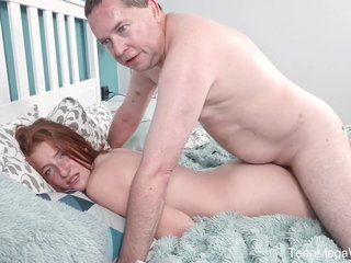TeenMegaWorld - Old-n-Young - Age-old cock inside brand-new pussy