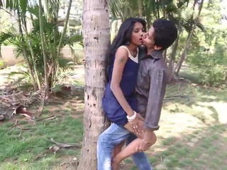 Desi Babe kissing